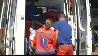In  Riniken wurde ein Mann in seinem Heizungskeller bewusstlos aufgefunden
