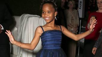 Neun Jahre alt und schon ein Star: Quvenzhané Wallis
