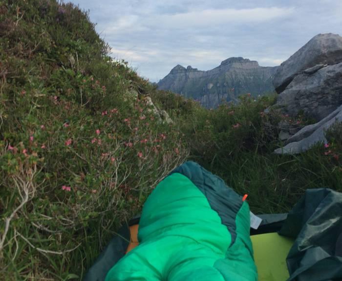Bei den Temperaturen diese Woche kann man getrost auch Schlafsack und Mätteli einpacken und unter freiem Himmel übernachten. (Bild: FM1Today/Fabienne Engbers)