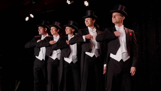 Das Ensemble bei den Proben für das Pfyfferli 2021.