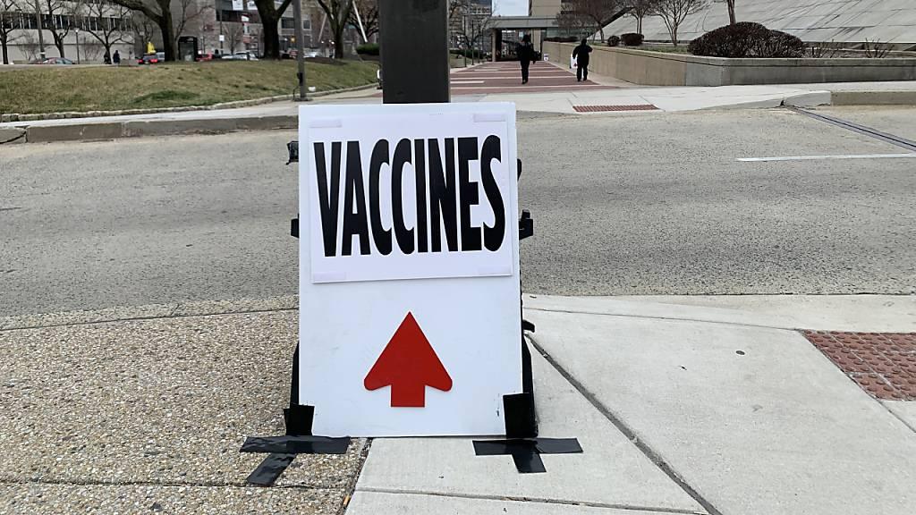 USA verfehlen Bidens Impfziel: Nur 67 Prozent der Erwachsenen geimpft