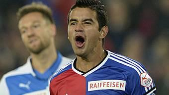 FC Basel gegen die Grashoppers