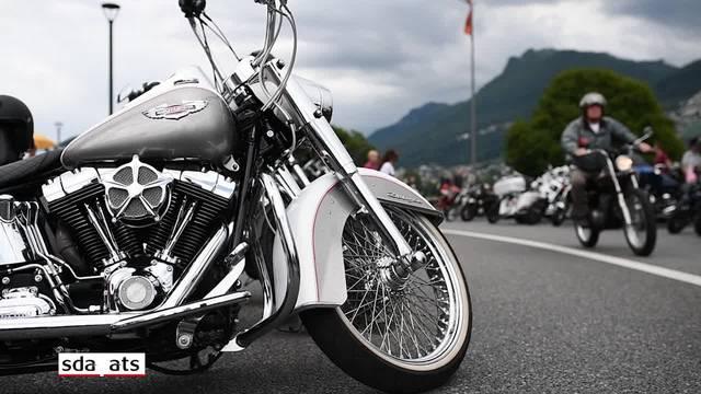 Swiss Harley-Davidson-Days in Lugano