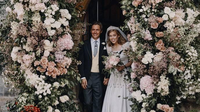 Prinzessin Beatrices geheime Hochzeit: Palast veröffentlicht Fotos