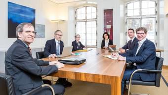 Der Stadtrat Brugg für die Legislaturperiode 2018-2022.