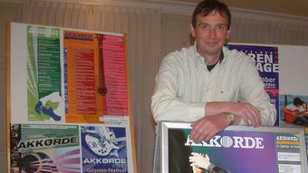 Harald Stampa, «Vater» des Gitarren-Festivals Akkorde.