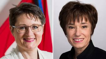 Franziska Roth und Ruth Humbel