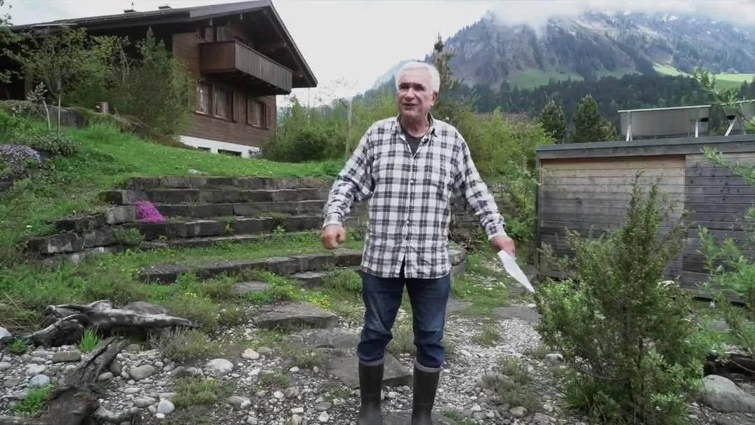Im Lockdown mit Kulttrainer und Naturbeobachter Hanspeter Latour
