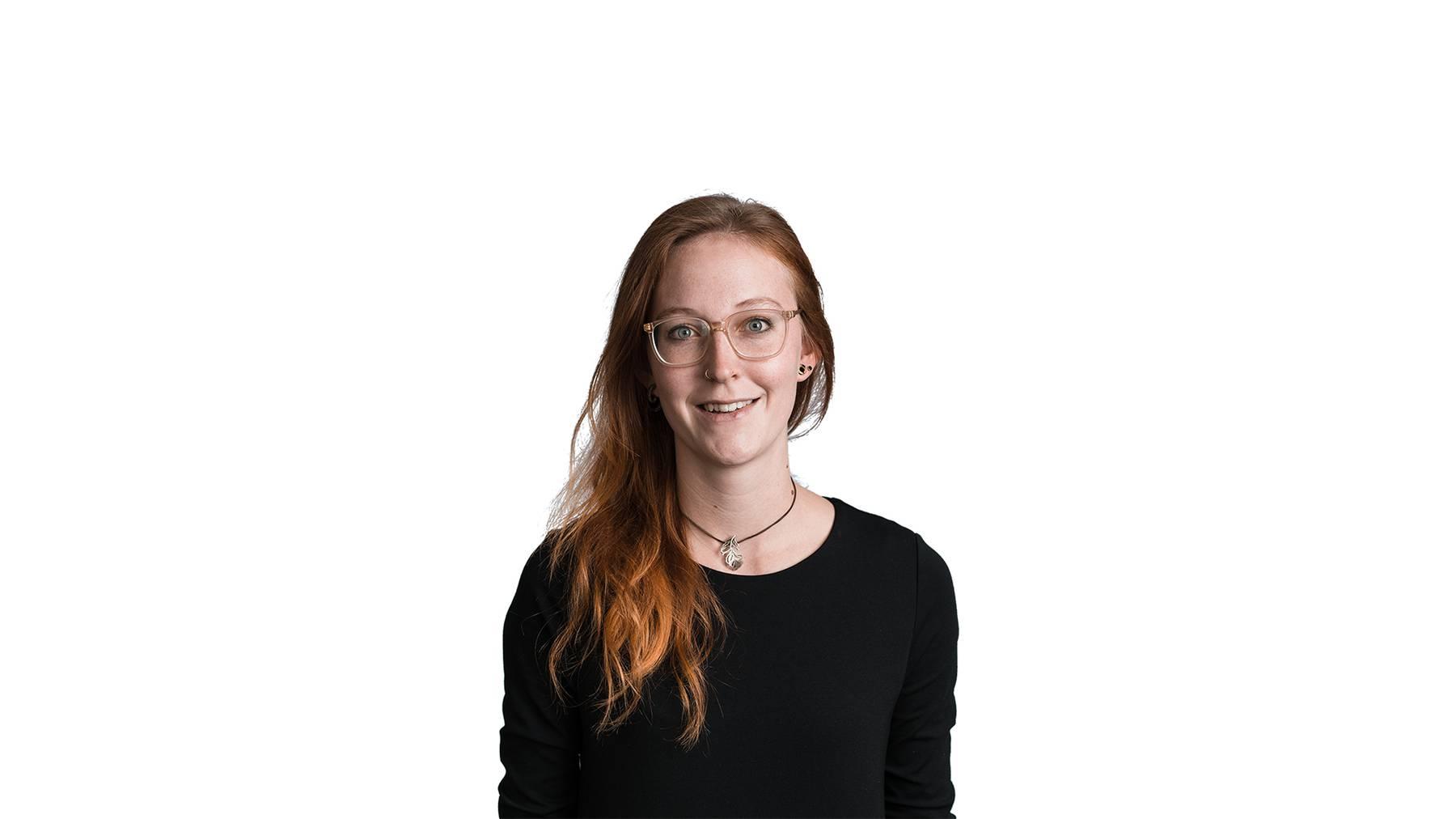 Redaktorin Nina Köpfer