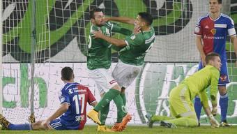 Bilder vom Spiel St. Gallen gegen Basel