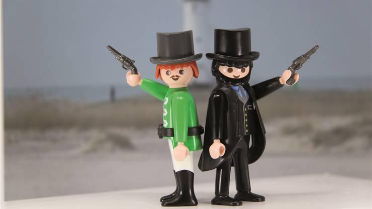 Grosse Literatur ganz klein: «Effie Briest» von Theodor Fontane mit Playmobilfiguren. Fotos: HO