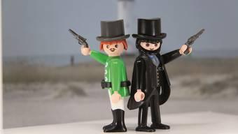Weltliteratur mit Playmobilfiguren