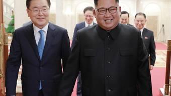 Der Termin für ein weiteres Gipfeltreffen zwischen den Staatsoberhäuptern Nord- und Südkoreas ist festgelegt worden. (Archivbild)