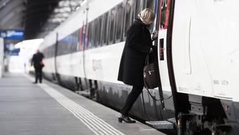 Das Komitee «Bahn 2000 plus» will die Bahn-2000-Neubaustrecke Mattstetten-Rothrist bis Zürich Altstetten fortsetzten. (Symbolbild)