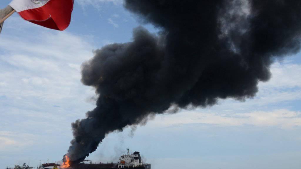 Die Lage nach dem Unfall auf dem Öltanker im Golf von Mexiko ist nach Angaben des Betreibers unter Kontrolle. Es werde kein Öl auslaufen.