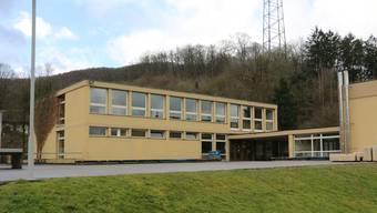 1969 erstellt: Die Mumpfer Primarschule am Kapf.