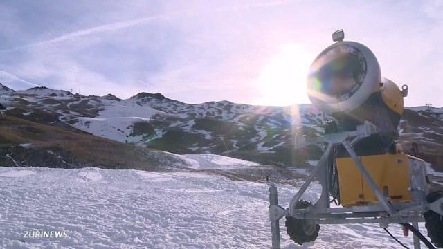 Skigebiete zittern um Weihnachtsgeschäft