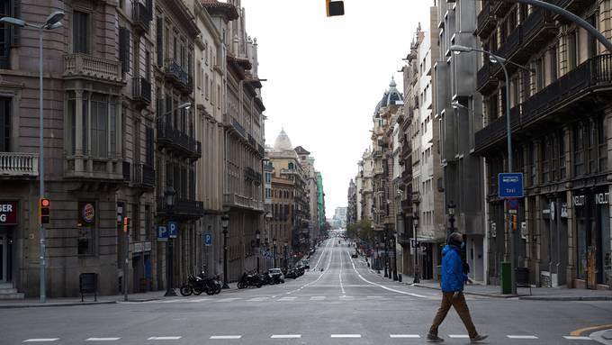In Spanien sind die Strassen leer. Nun sollen auch noch die meisten Arbeitnehmenden in den Zwangsurlaub.