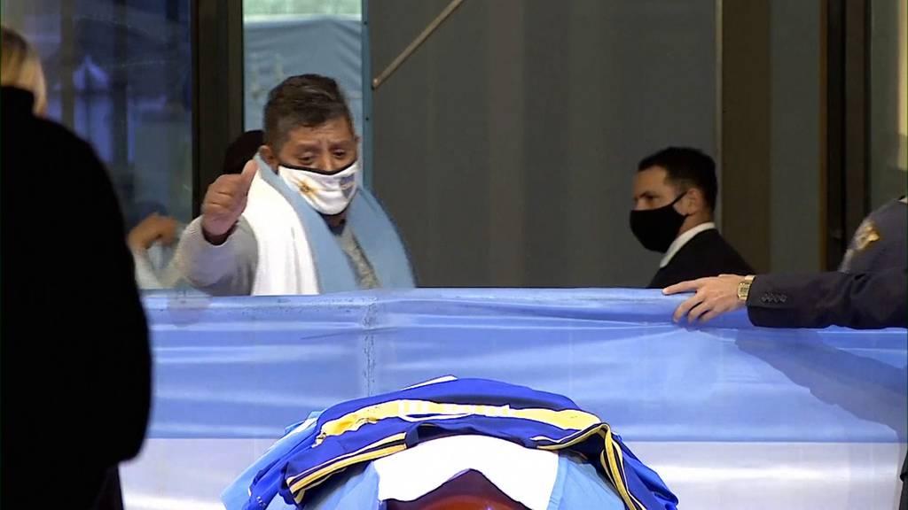 Argentinien nimmt Abschied von Maradona