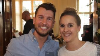 Pascal Weber (32) und Christine Primus (29) aus Seengen