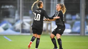 Dank einem starken Auftritt dürfen die FCA-Frauen gegen Zürich jubeln.