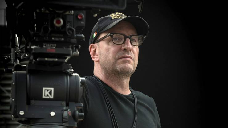 Steven Soderbergh bei den Dreharbeiten zu «Logan Lucky». Impuls Pictures