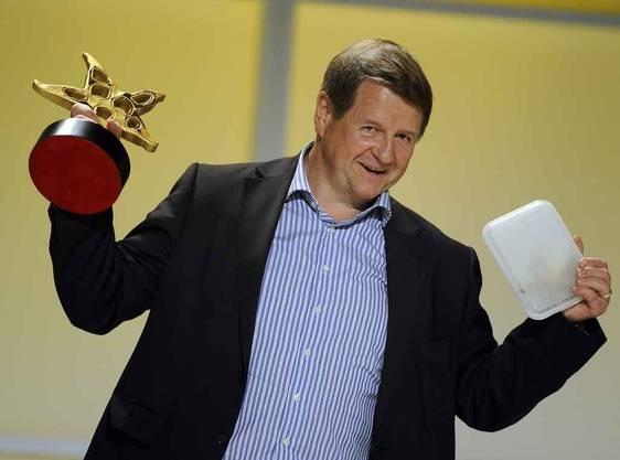Hanspeter Mueller- Drossaart gewinnt den Prix Walo Schauspieler