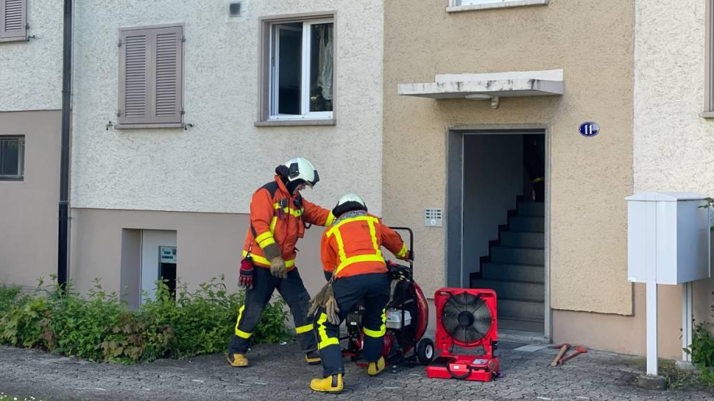 22-Jähriger bei Verpuffung verletzt – 30'000 Franken Sachschaden