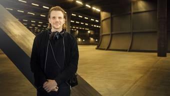 «Ich fand die Architektur einfach wahnsinnig toll»: Tim Fehlbaum im Messeneubau.