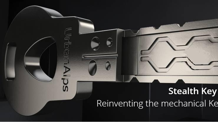 Der Stealth Key soll sicher gegen 3D Kopieren sein.