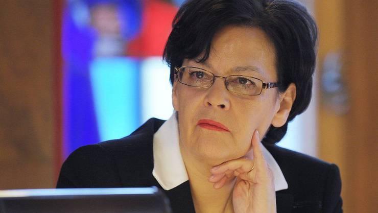 Die Zürcher Finanzdirektorin Ursula Gut rechnet 2013 mit einem Defizit in dreistelliger Millionhöhe.
