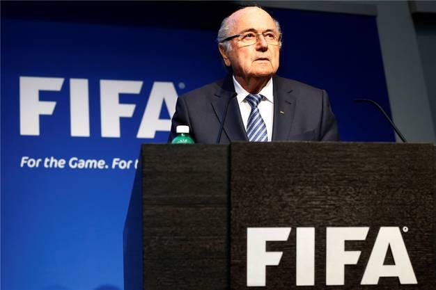 Fifa-Präsident Sepp Blatter