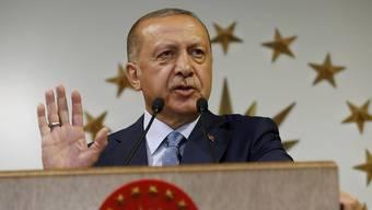 Der türkische Präsident Erdogan hat seinen Sieg bei den Parlaments- und Präsidentschaftswahlen am Sonntag erklärt.