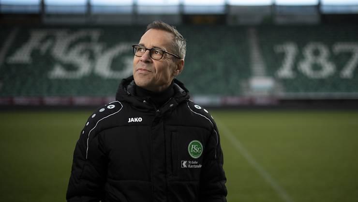 Matthias Hüppi ist seit Dezember 2017 Präsident des FC St. Gallen