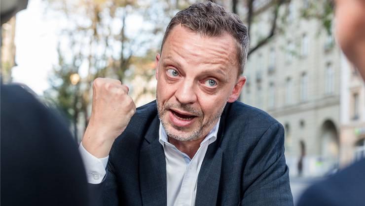 «Ich finde, die Schweiz muss dabeibleiben. Aber auch ohne EMRK wäre die Schweiz keine Bananenrepublik»: Hans-Ueli Vogt.