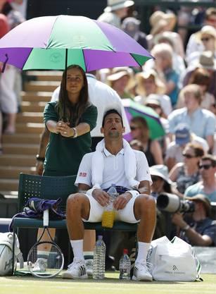 Verschnaufpause bei Djokovic