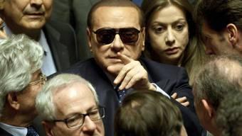 """Berlusconi sucht das Gespräch mit seinen """"Rebellen"""" (Archiv)"""