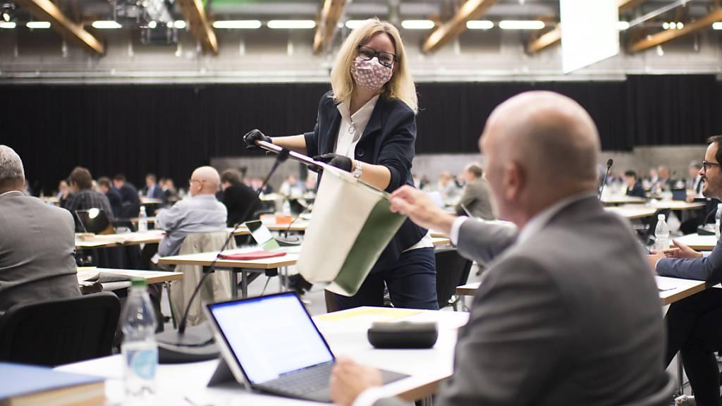 St. Galler Parlament tagt weiter in der Olma-Halle