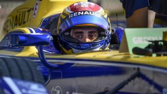 Sébastien Buemi im Cockpit des Renault e.dams