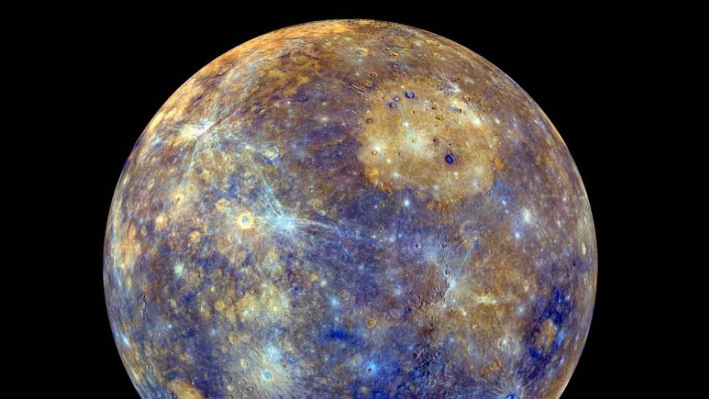 Die Raumsonde «BepiColombo» stattet dem Planeten Merkur einen Besuch ab. (Archivbild)