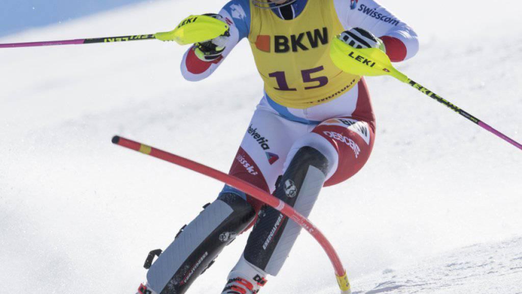 Mélanie Meillard gewann in Davos den Schweizer Meistertitel im Slalom