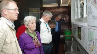 Gestern nahmen zahlreiche Besucher die Gelegenheit wahr, das neu eingerichtete Bergwerksmuseum in Herznach zu besuchen. hcw