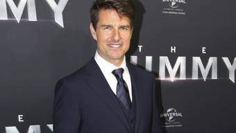 Der 54-jährige Filmschauspieler Tom Cruise plant offenbar die Fortsetzung seines Erfolgsfilmes Top Gun. (Archivbild)