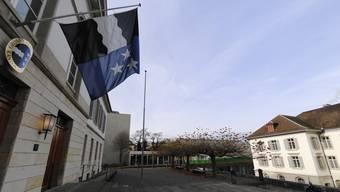 Die Denkfabrik Avenir Suisse kritisiert den Aargauer Finanzausgleich: Die Entscheide dazu werden in Grossratsgebäude und Regierungsgebäude in Aarau gefällt.