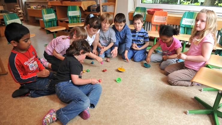Die Privatisierung der Kinderbetreuung rückt näher.  Symbolbild/Archiv