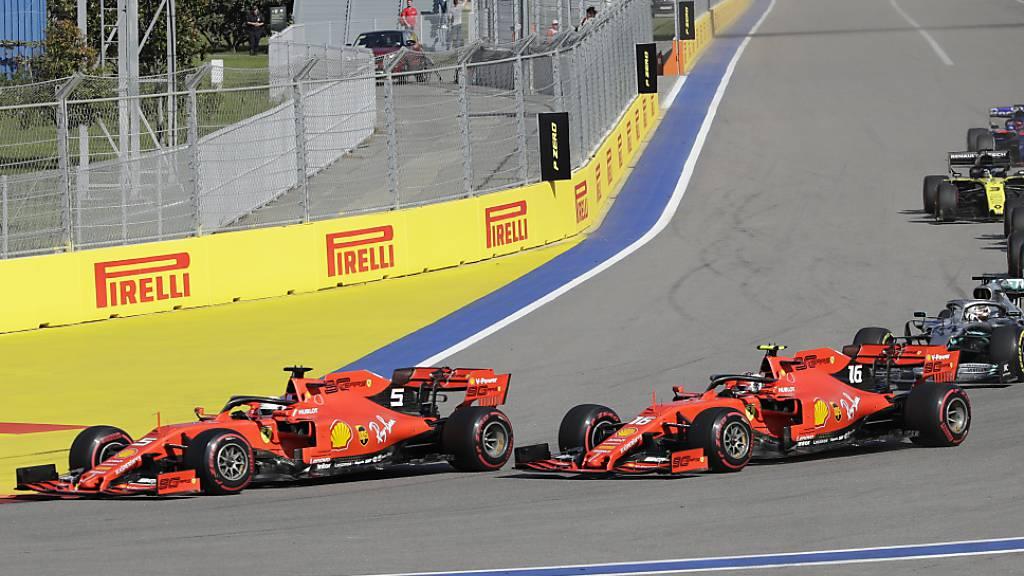 Hamilton siegt dank Reifen-Strategie und Safety Car