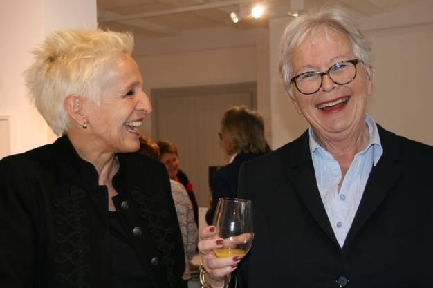 Nina Dimitri und Rachela Oppenheim.
