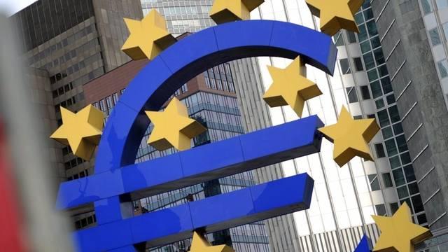 Die europäische Zentralbank in Frankfurt (Archiv)