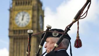 Ohne Grossbritannien könnten Schottinnen und Schotten mehr Geld haben, wie eine neue Studie verspricht. (Archiv)