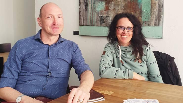 Fabian Gressly und Lucilia Mendes von Däniken.
